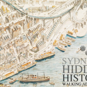 Image of Sydney's Hidden History Walking Tour Postcard