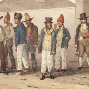 convicts at barracks
